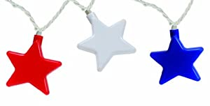 Camco 42656 Patriotic Star Party Light