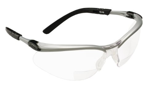 3M Reader's Safety Glasses,+1.5 Diopter, Clear Lens Bifocal lens (Cool Safety Glasses Z87 compare prices)