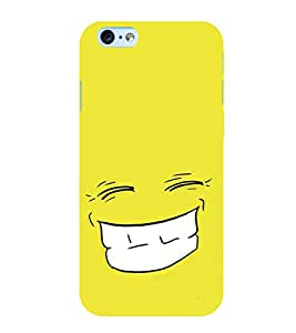 Grin 3D Hard Polycarbonate Designer Back Case Cover for Apple iPhone 6