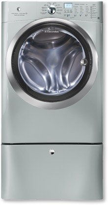 Electrolux EIFLS60LSS IQ-Touch 4.33 Cu. Ft. Silver Stackable With Steam Cycle Front Load Washer - Energy Star