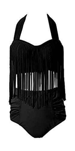 jxstar-damen-sexy-plus-size-hohe-taille-geflochtene-fringe-top-bikini-schwarz-xl