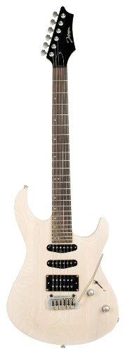 Johnson Js-367-Wh Adrenaline Electric Guitar, Transparent White