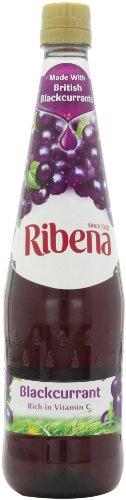 Ribena Original Blackcurrant Drink, 33.8-Ounce Bottles (Pack Of 4)