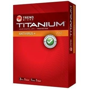 Titanium Antivirus + 3 User French and English (bilingual software)