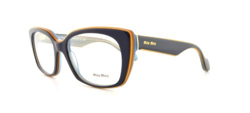 Miu Miu Mu05Lv Eyeglasses-Kau/1O1 Top Blue On Azure-51Mm