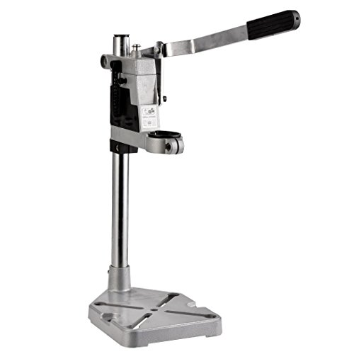 Aluminum Drill Press Stand Workbench Repair Tool Clamp Base Frame For Electric Drilling Collet 43mm Ship from USA (Bench Grinder Dust Collector compare prices)