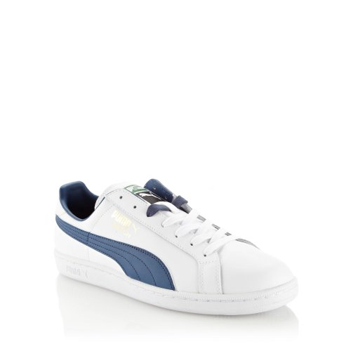 Puma White 'Match Solid' Trainers