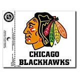"NHL Chicago Blackhawks 3.75"" x 4"" Window Cling at Amazon.com"