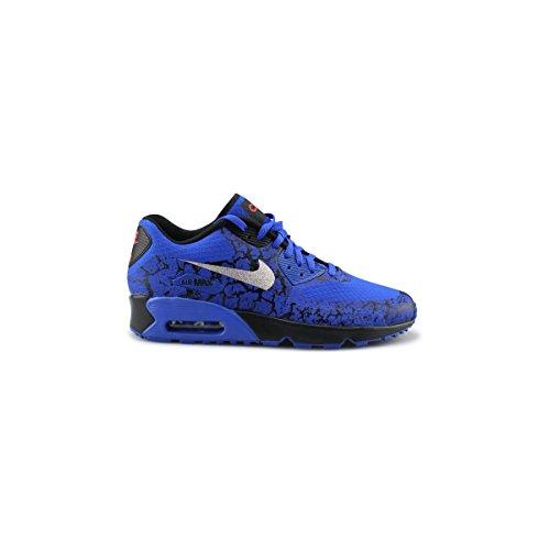 Nike Bambino Racer Blue / Mtllc Silver-BLCK scarpe da calcio Blu Size: 40