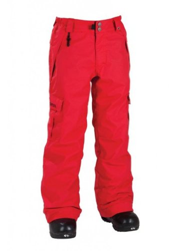 686 Mannual Ridge Insulated Pant Red L -Kids 686 B005I777G0