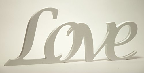 "Letters ""Love"" Made of Plastic"