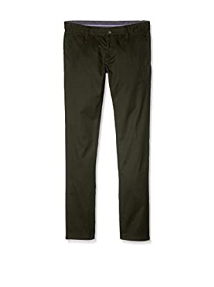 Hackett London Pantalón Class Chino Y (Verde)