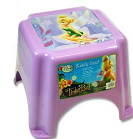 Disney Tinkerbell Kiddie Step Stool from Characterkiddlestools
