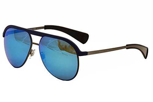 Sunglasses Dolce & Gabbana DG 6099 301725 MATTE BLUE/MATTE GUNMETAL