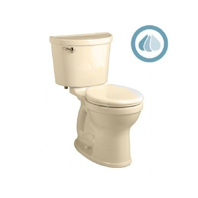 American Standard 211BA.104.021 Champion PRO Right Height 12-Inch Rough-In Round Front Toilet Combination Less Seat, Bone (Home Depot Toilet Seat Standard compare prices)