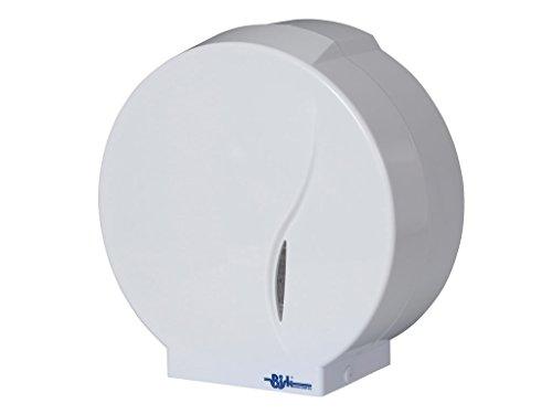bisk-abs-jumbo-distributeur-rouleau-de-papier-toilettes-blanc