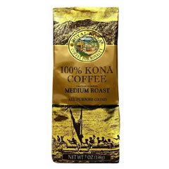 Royal Kona 100% Kona Coffee 7oz bags (6 bags, All Purpose Grind)