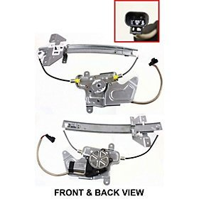 99-05 Pontiac Grand Am 4DR Window Regulator REAR Left (2003 Alero Window Regulator compare prices)