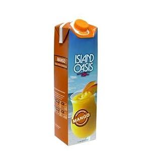 Island Oasis Premium Banana Drink Mix 1 Liter Bottle