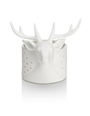 Stag Porcelain Tealight Holder