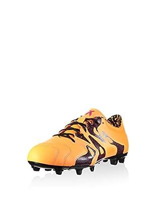 adidas Botas de fútbol X 15.2 Fg/Ag (Naranja)
