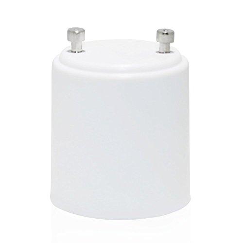 6 Pcs Gu24 To E26/E27 Adapter - Gu24 Bayonet Base To E26/E27 Edison Screw Bulb Socket Adapter Converter