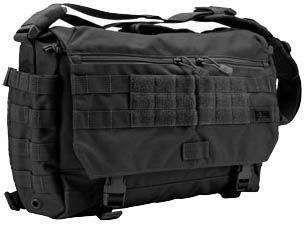 5.11 Rush Delivery Messenger Bag (Black, 1 Size)