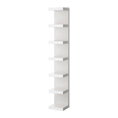 IKEA(イケア) LACK ホワイト 50171363 ウォールシェルフユニット、ホワイト