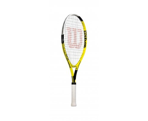 Wilson US Open 25 Tennis Racquet - 25-Inch, Yellow