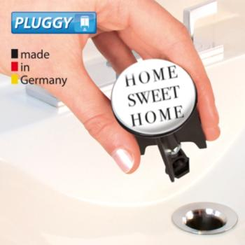 WENKO Pluggy Waschbeckenstöpsel Home Sweet Home