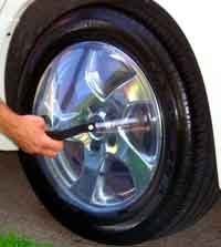 Zane's Adjustable Vehicle Wheel Shield for Detailing (Vehicle Detailing compare prices)