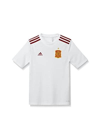 adidas Camiseta de Fútbol 2016-2017 Spain Away Fan Blanco / Rojo / Amarillo
