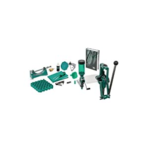 RCBS Rock Chucker Supreme Master Reloading Kit, Green by RCBS