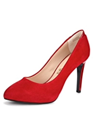 Autograph Suede Water Resistant Platform Court Shoes with Insolia®