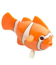Small World Express - Clown Fish Wind-Up (color varies)