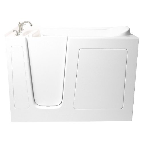 "Best Prices! 51"" x 26"" Soaker Walk-in Tub Configuration: Left"