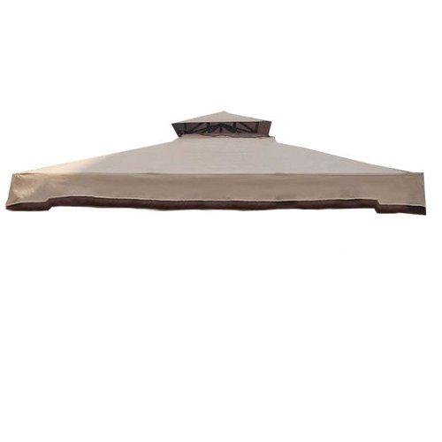 Telo doppio tetto ricambio per Gazebo Cipro 3x4 mt Impermeabile 100% MO535
