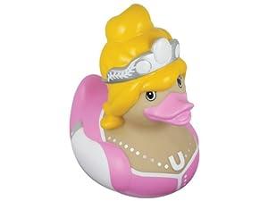 Mini Deluxe Ente Princess, Höhe 7 cm, PINK und gelb
