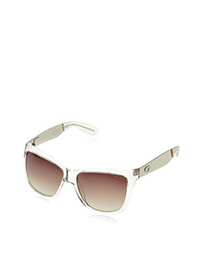Guess Gafas de Sol GU7371 (57 mm) Transparente
