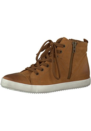 Pelle Tamaris Sneaker Brown 1-26285-27 455 Cuoio, Tamaris Damen-Schuhe:39