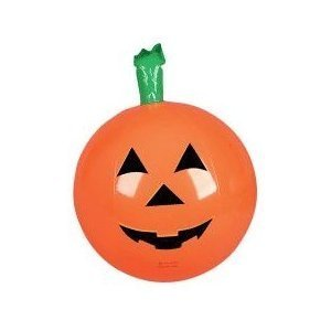 6 Inflatable HALLOWEEN PUMPKINS ~ 16'' Jack O Lanterns PUMKIN Inflates ~ Fun Party Decor Favor ~ - 1