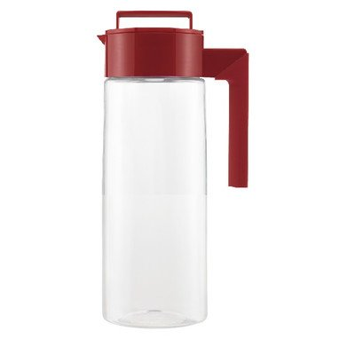 All-In-One 2 Qt. Pitcher Color: Red (Takeya Pitcher Glass compare prices)