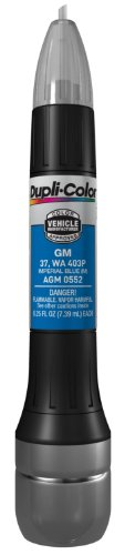 Dupli-Color AGM0552 Metallic Imperial Blue General Motors Exact-Match Scratch Fix All-in-1 Touch-Up Paint - 0.5 oz. (Gm Imperial Blue compare prices)