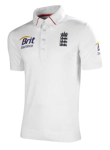 adidas England Cricket Test Shirt 2012 52-54 inch