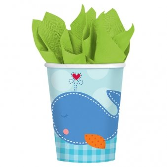 Baby Shower 'Ahoy Baby' 9oz Paper Cups (8ct)