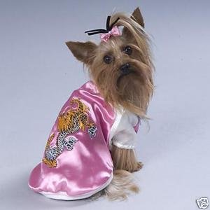 Dog-Asian Varsity Medium Dog Jacket Coat Gift