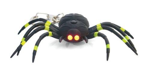 Kikkerland KRL06TC Spider LED Keychain with Sound