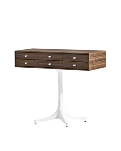 Aeon Furniture Walnut Chest, Brown/White