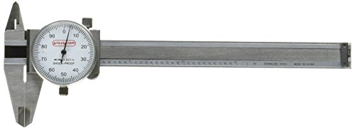 Grizzly G9808 4-Inch Dia Length Caliper (Dial Caliper Grizzly compare prices)