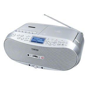 ソニー CDラジオカセット メモリーレコーダー CFD-RS500
